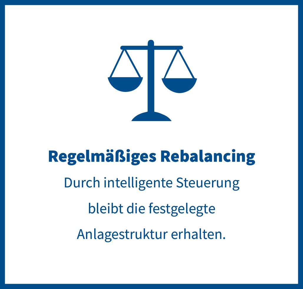 regelmäßiges Rebalancing